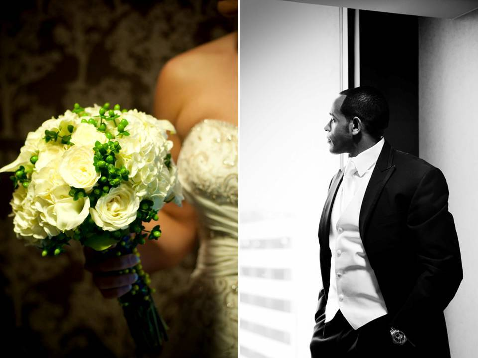 Traditional-real-wedding-inspiration-white-ivory-bridal-bouquet-black-classic-tux.full