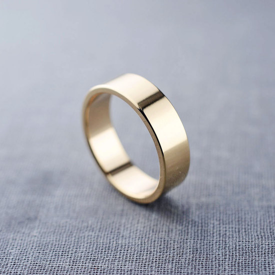 14K Gold Men's Ring by LilyEmme Jewelry