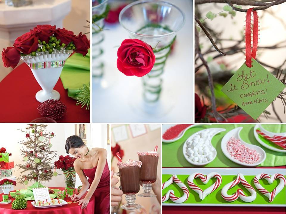 Red-white-green-holiday-themed-winter-wedding-reception-cocktails-sweet-treats.full