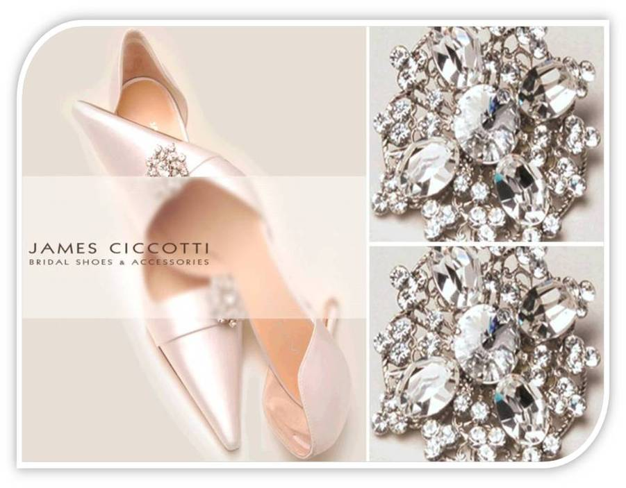 Exclusive Bridal Pumps And Slingbacks Made In Italy By Designer James Ciccotti