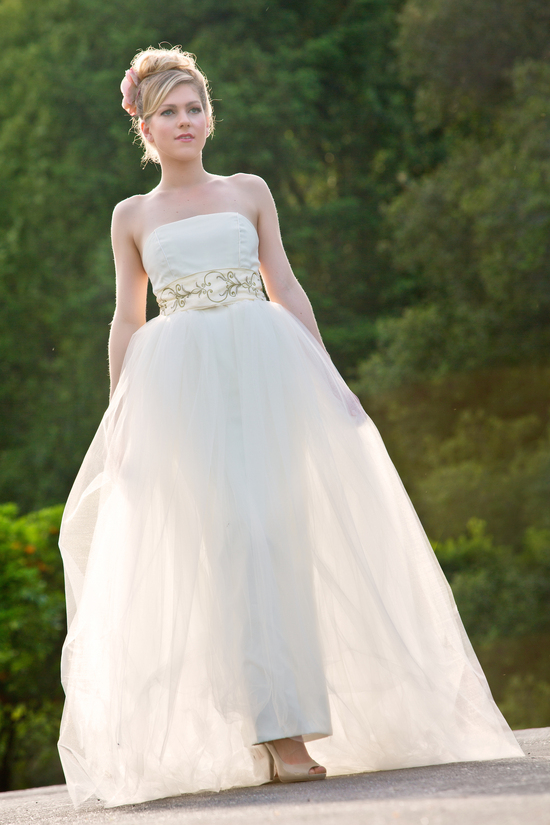 Amy Jo Tatum wedding gown