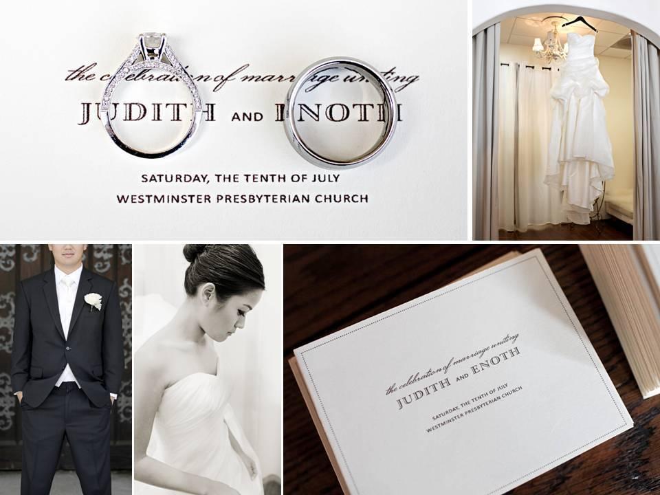 Chic-california-wedding-romantic-decor-classic-bridal-style-white-strapless-wedding-dress.full