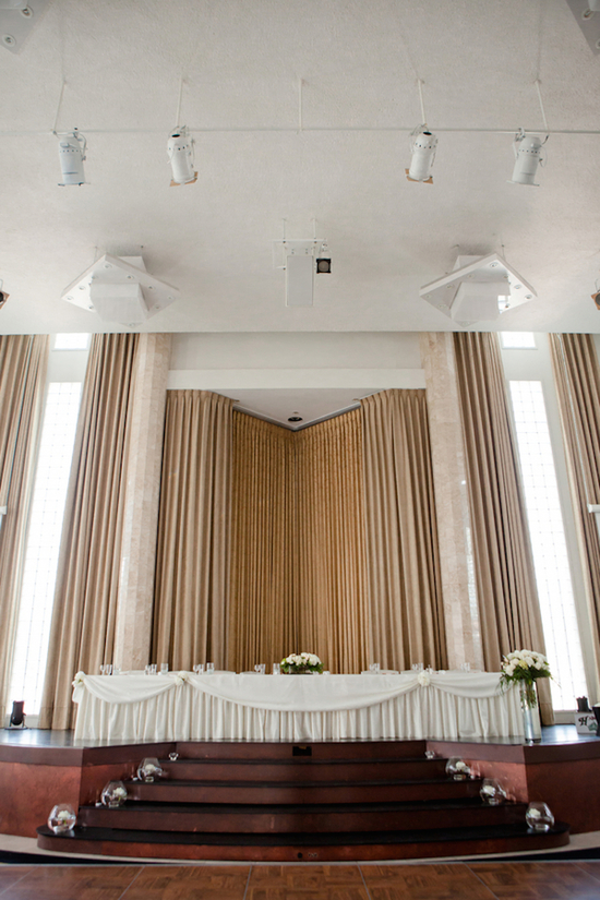 Indoor ceremony venue