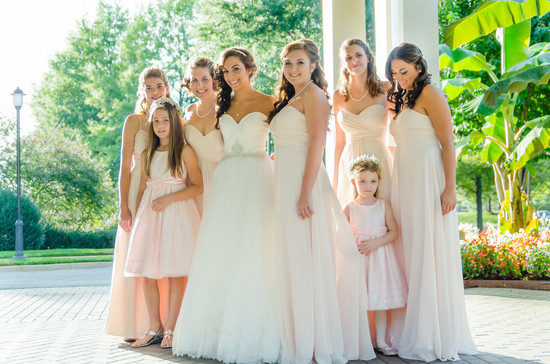 Nicole and Bridesmaids