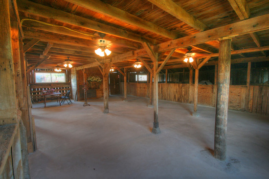 First Floor of Wedding Barn