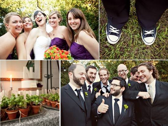photo of Real Wedding Inspiration: A Green Vegan Wedding in Pennsylvania