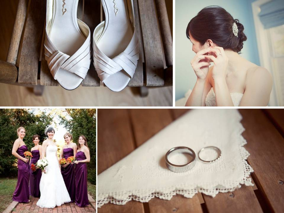 Real-eco-friendly-wedding-vegan-engagement-rings-wedding-band-purple-bridesmaids-dresses-peep-toe-bridal-shoes.full