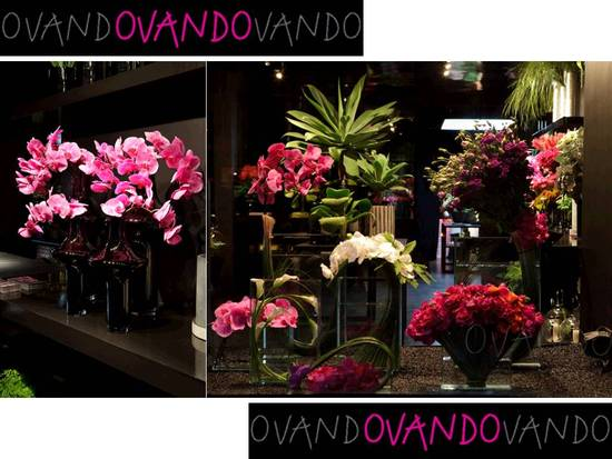 Exotic floral design window displays to inspire your wedding flower arrangements