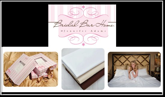 bridal bar home by jennifer adams sheet sale