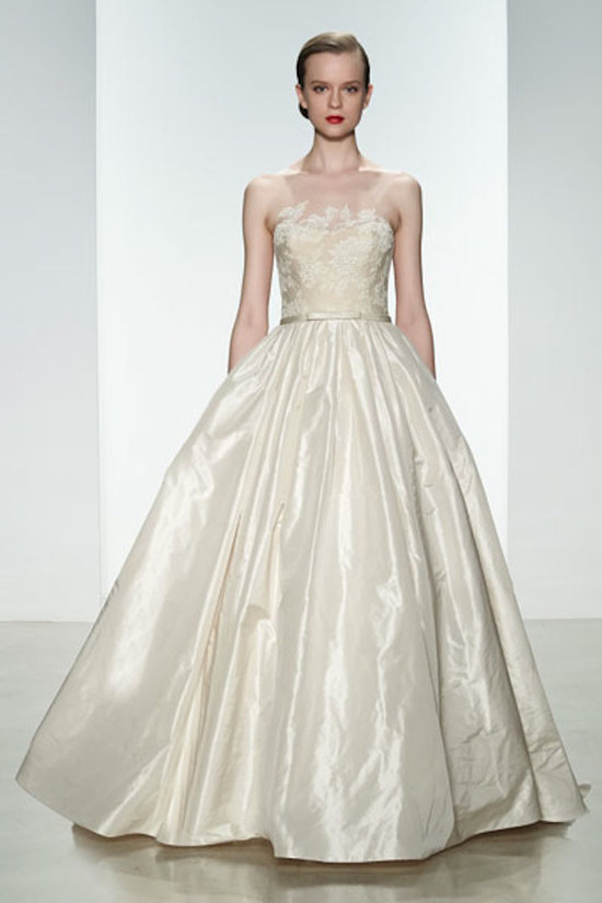 photo of Natural waist ballgown
