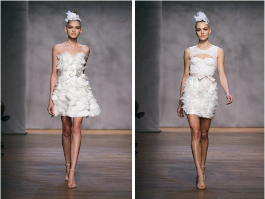 Monique Lhuillier Fall 2011 Wedding Dresses Iris Pixie