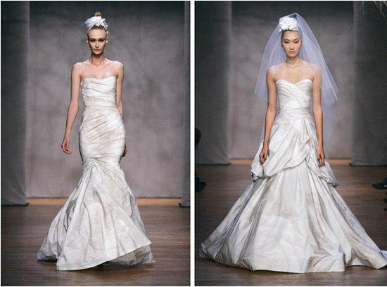 Monique Lhuillier Fall 2011 Wedding Dresses Flora Primrose