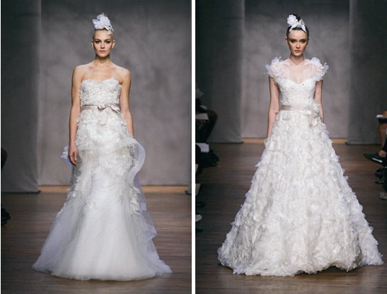 Monique Lhuillier Fall 2011 Wedding Dresses Hyacinth Dandelion