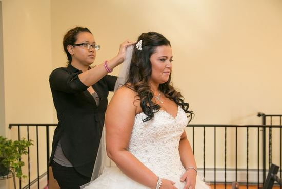 ct wedding hair and makeup