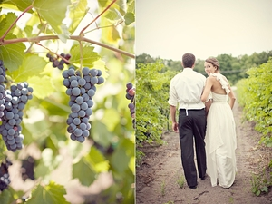photo of Vineyard Wedding in New Hampshire: Mike & Engrid