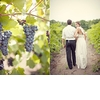 Rustic-chic-winery-wedding-bride-and-groom-walk-through-vineyards.square