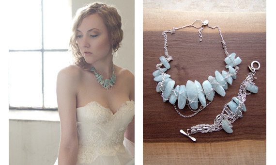 Trendy-bridal-neckace-made-from-sterling-silver-and-turquoise-gemstones.full