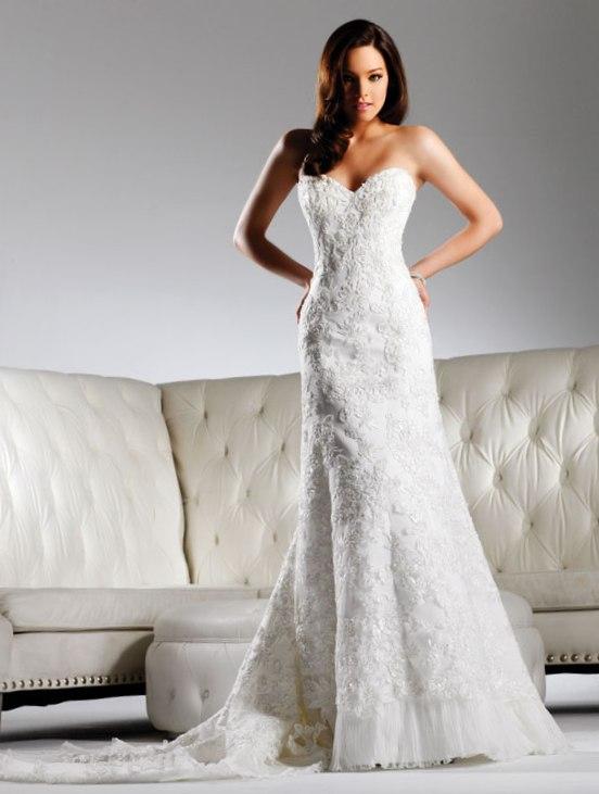 modified a line wedding dress - Design Your Wedding Dress