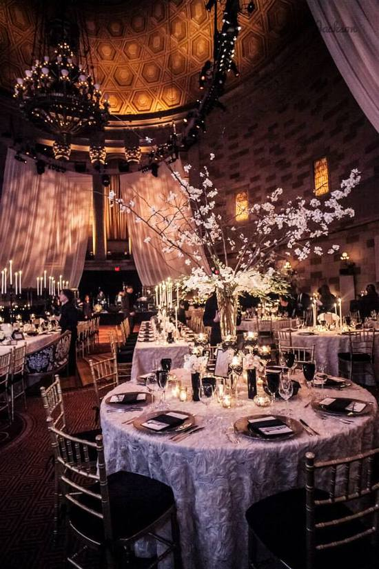 Gatsby Inspired Wedding at Gotham Hall