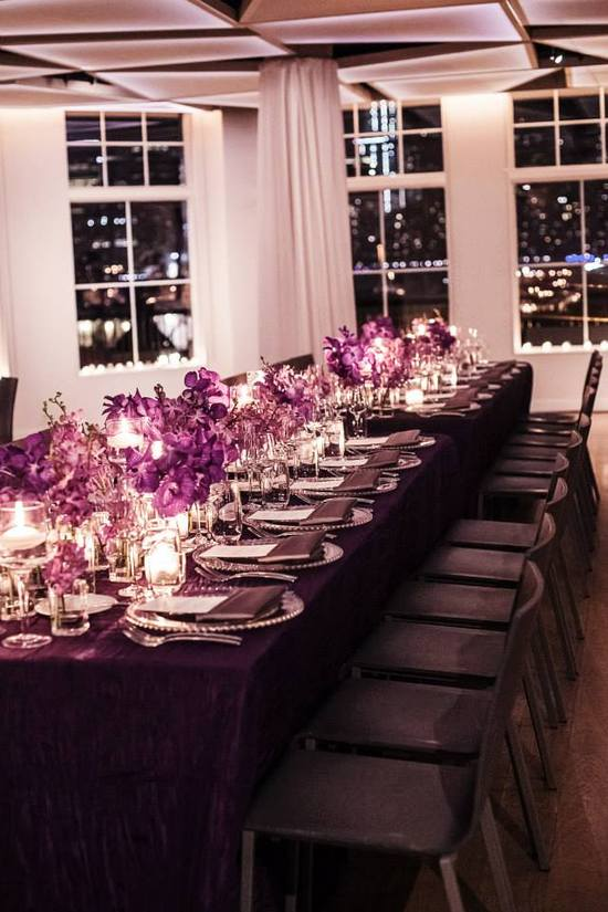 Elegant Purple Wedding at Maritime Parc