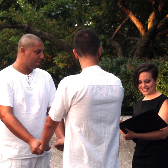 wedding officiant central park ny