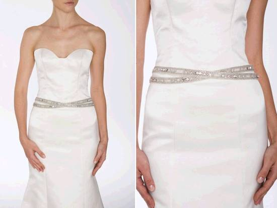 photo of Add Sparkle To Your Wedding Dress With A Chic Bridal Belt!