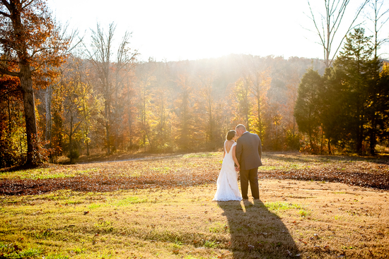 photo of Charming Outdoor Wedding in the Fall