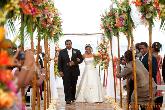 Caribbean island wedding planners luxury resort wedding beach st lucia