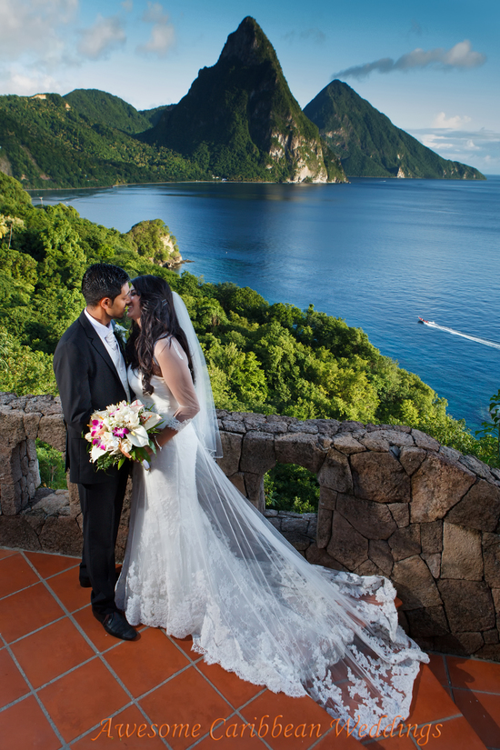 Caribbean island wedding planners st Lucia