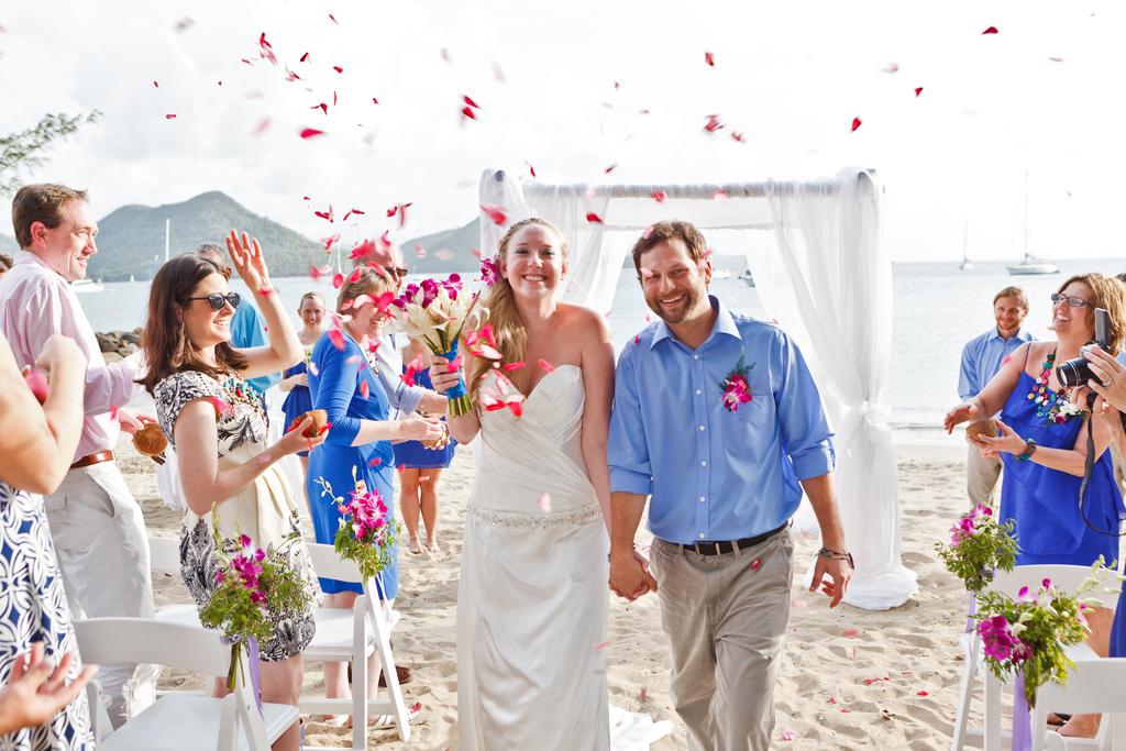 Caribbean island wedding planners St Lucia destination