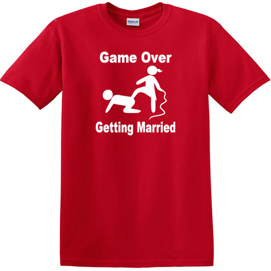 game over getting married red