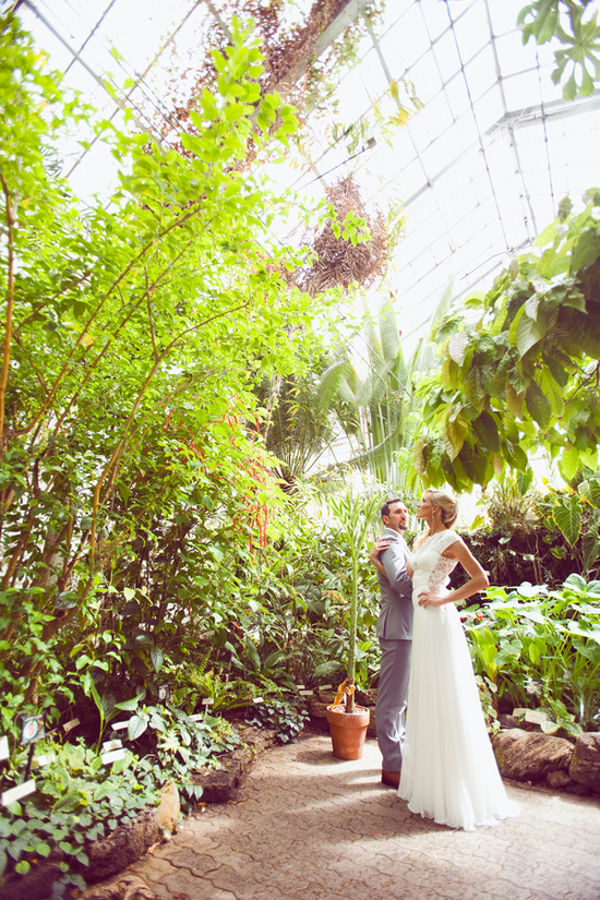 Real Couple in a Green House