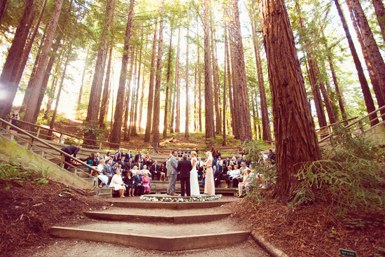 Natural Outdoor Ceremony