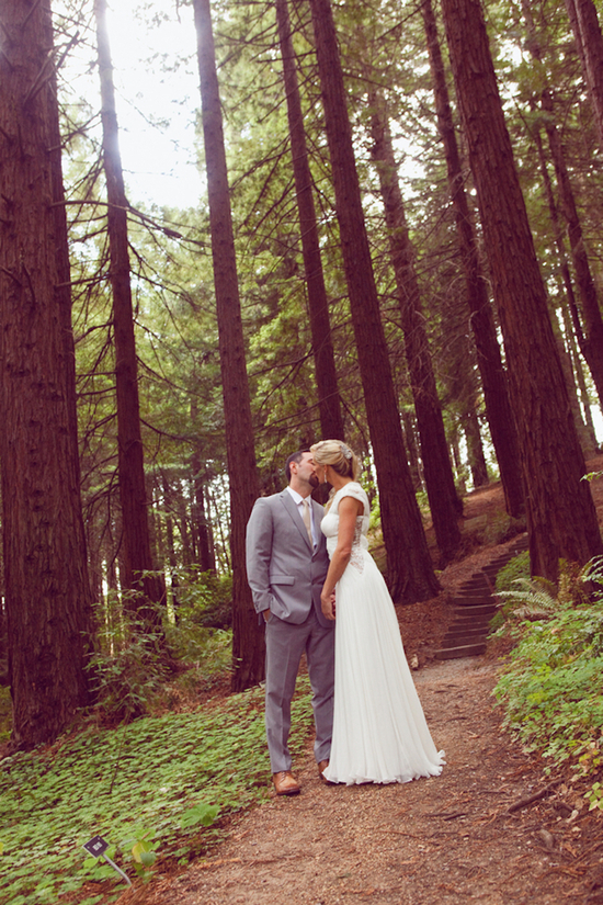 Sweet Couple in the Forest