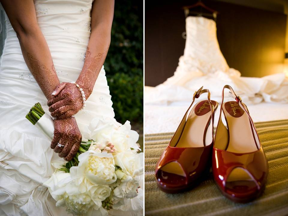 Traditional-indian-wedding-red-peep-toe-platform-bridal-heels-all-white-bridal-bouquet.full