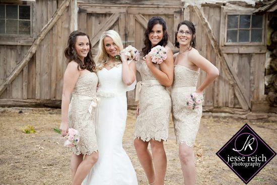 Bride & her girls