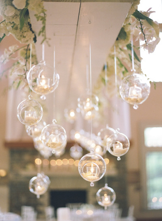 pretty hanging candles