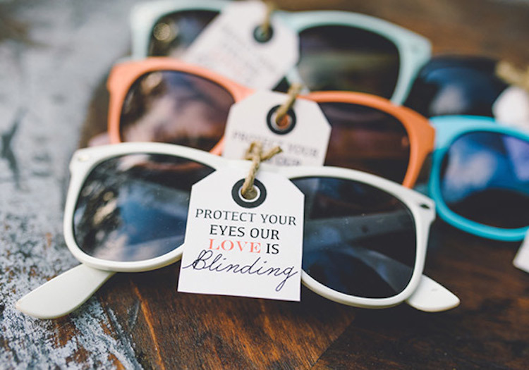 Sunglass Favors