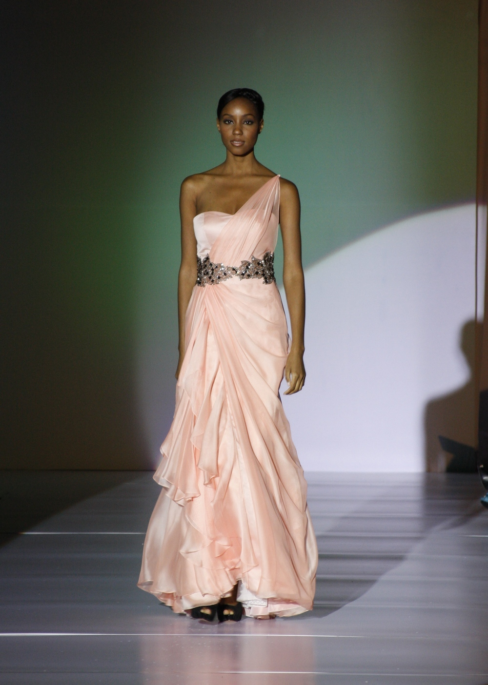 Enzoani-spring-2011-one-shoulder-blush-pink-assymetric-jeweled-belt.full