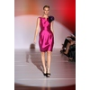 Enzoani-spring-2011-rasberry-satin-knee-length-bridesmaid-dress-purple-flower-on-shoulder.square