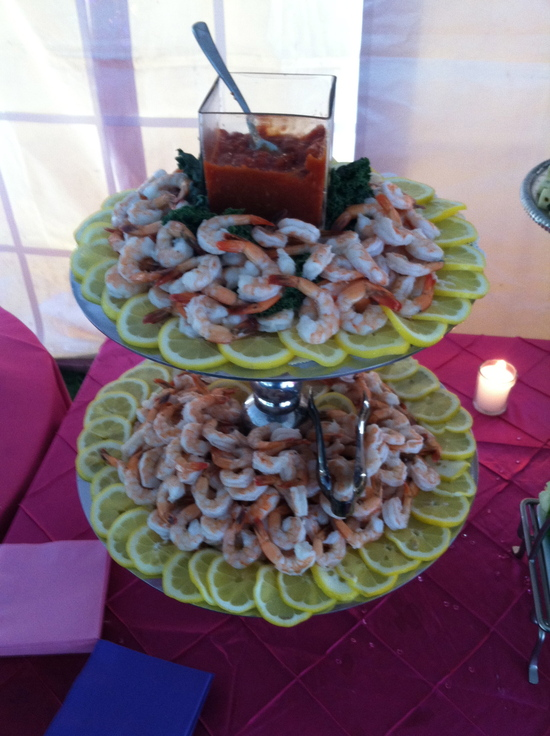 Appetizers for parties and weddings