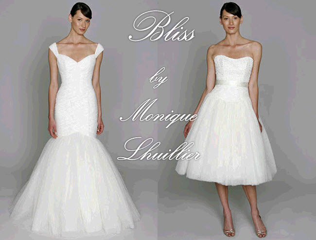 Bliss by Monique Lhuillier- bringing the highly sought after couture creations to the masses!