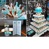 Modern-new-jersey-beach-themed-wedding-aqua-chocolate-brown-ivory-wedding-color-palette-cupcake-tree-dessert-bar.square