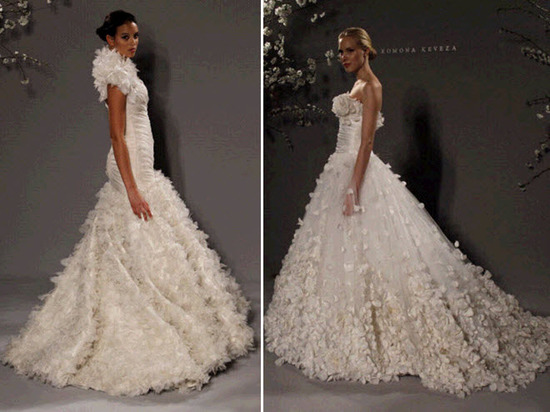 Full a-line and ballgown wedding dresses with lots of embellishment