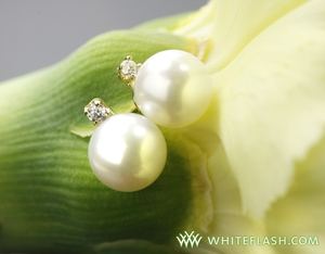 photo of Savvy Steals Giveaway: Pearl and Diamond Earrings from Whiteflash!