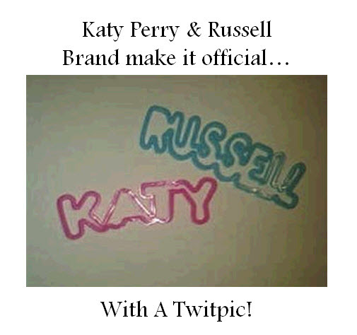 Katy Perry and Russell Brand announce they've tied the knot via Twitter!