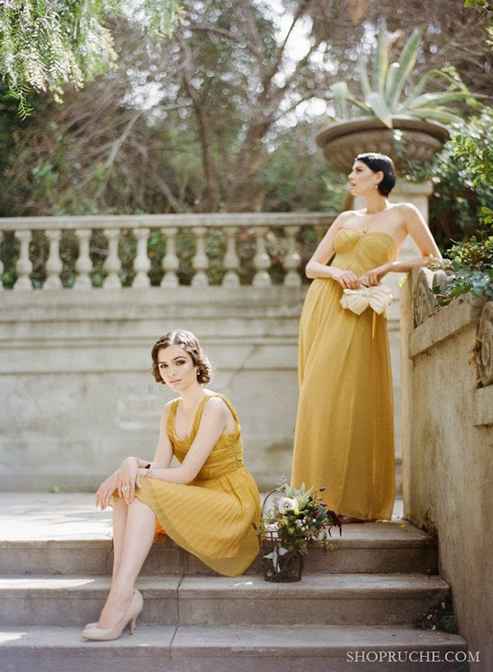 Versatile Yellow Dresses