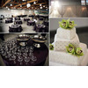 Classic-california-wedding-white-modern-wedding-cake-adorned-with-green-orchids-luxe-reception-decor.square