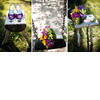 Purple-satin-sling-back-open-toe-bridal-heels-bright-fresh-wedding-flowers-bridal-bouquet.square