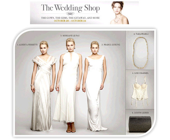 Shop the Gilt.com Wedding Shop to score high-end designer wedding dresses, accessories, tuxedos and